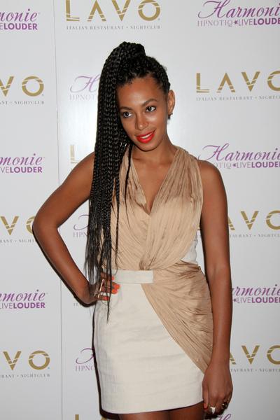 Solange Knowles 25th Birthday Celebration at Lavo Nightclub in Las Vegas on June 24, 2011